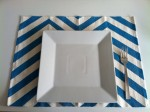 Chevron Place Mat table