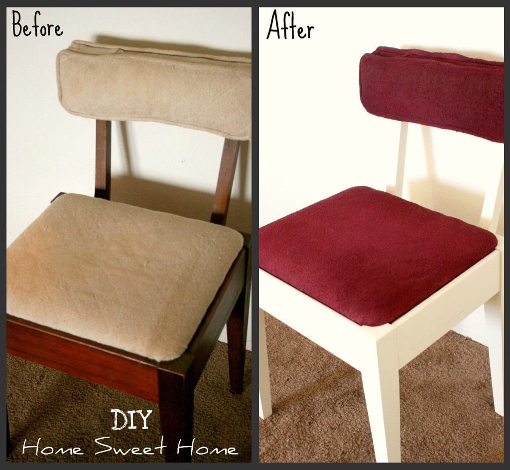 DIYHSHP chair before and after